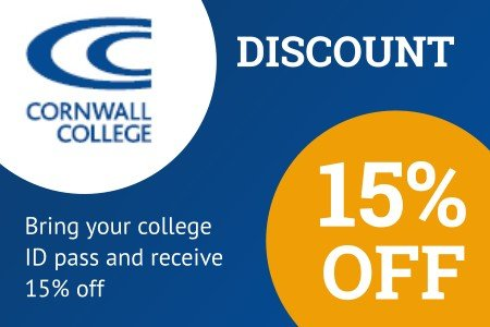 Cornwall College discount